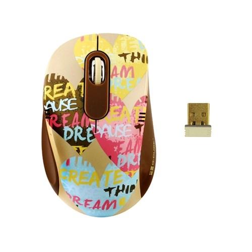 Мышь беспров. A4Tech G-Cube So Happy Together - Love, 1000dpi, мини-пр., USB (G7H-60L) - фото 10206