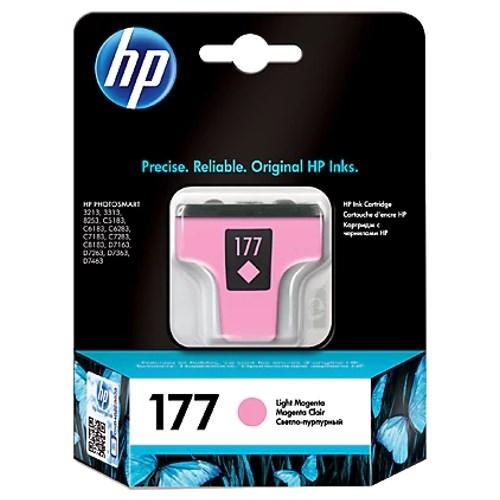 К-ж HP C8775HE (HP177) Light Magenta для Photosmart 8253/3213/3313 4ml ориг. - фото 10253
