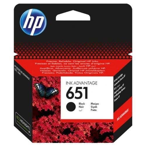 К-ж HP C2P10AE (HP651) Black для Deskjet Ink Advantage 5645, 5575 ориг. - фото 10254