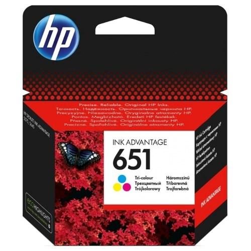 К-ж HP C2P11AE (HP651) Color для Deskjet Ink Advantage 5645, 5575 ориг. - фото 10255