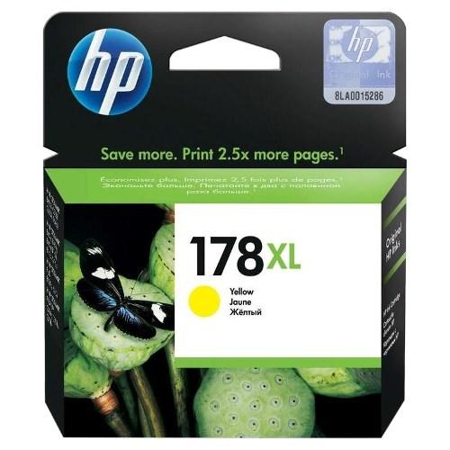 К-ж HP CB325HE (№178XL) Yellow (увеличенной емкости) ориг. - фото 10280