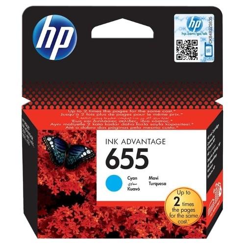 К-ж HP CZ110AE (HP655) Cyan для DJ Ink Advantage 3525,4615,4625,5525,6525 ориг. - фото 10319