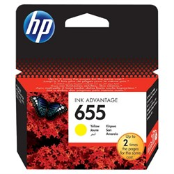 К-ж HP CZ112AE (HP655) Yellow для DJ Ink Advantage 3525,4615,4625,5525,6525 ориг. - фото 10321