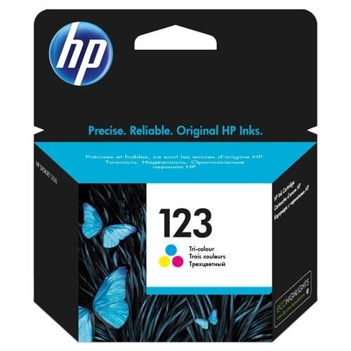 К-ж HP F6V16AE (HP123) Color для DJ 2130 ориг. - фото 10322