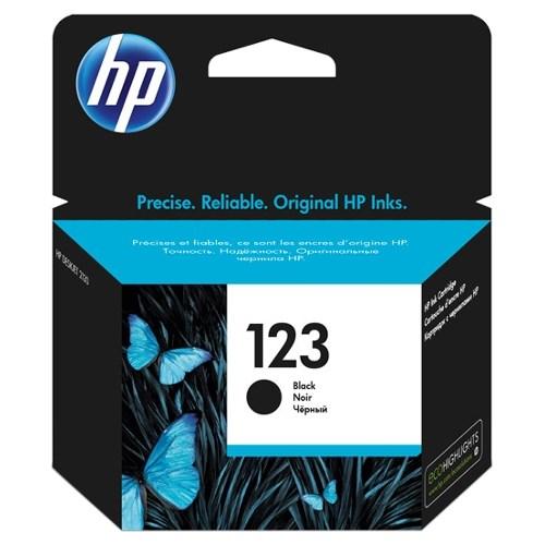 К-ж HP F6V17AE (HP123) Black для DJ 2130 ориг. - фото 10323