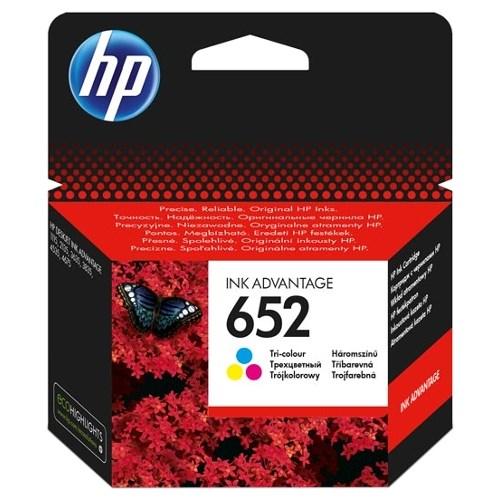 К-ж HP F6V24AE (HP652) Color для Deskjet Ink Advantage 1115/2135/3635/4535/3835/4675 ориг. - фото 10324