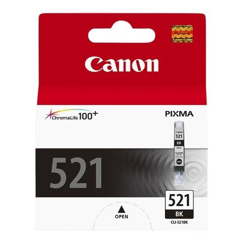К-ж Canon CLI-521BK Black (iP3600/iP4600/MP540/MP620/MP630/MP980) 9ml, ориг. - фото 10409