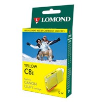 "К-ж Canon CLI-8Y Yellow (PIXMA MP800/MP500/iP6600D/iP5200/iP5200R/iP4200) ""Lomond"" без чипа - фото 10478"