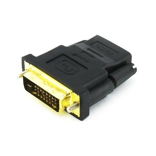 Переходник DVI-D (M) - HDMI (F) - фото 10493