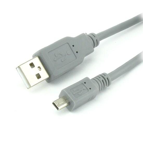 Кабель USB A --> mini-USB 8P (для фотокамер) 1.5м (USB 2.0) - фото 10533