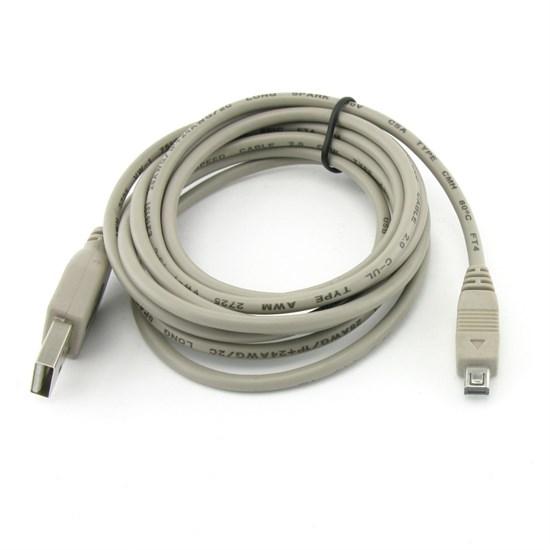 Кабель USB A --> mini-USB 8P 1.8м (USB 2.0) - фото 10606