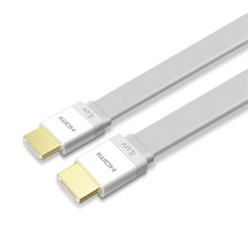 Кабель HDMI19M - HDMI19M плоский, iLuv, 1.8м (iCB716WHT) - фото 10860