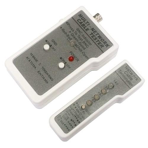 LAN тестер HL-004/NCT-1 для UTP, STP (RJ-45), Coaxial (BNC) - фото 11007