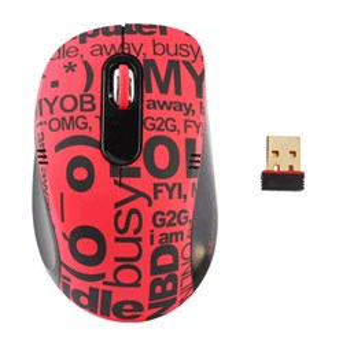 Мышь беспров. A4Tech G-Cube ChatRoom - Red, 1000dpi, мини-пр., красная, USB (G7CR-60R) - фото 11025