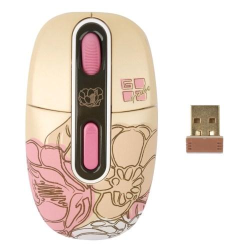 Мышь беспров. A4Tech G-Cube Floral Fantasy - Summer, USB (G7F-10SU) - фото 11029