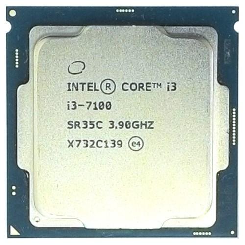 Intel Core i3-7100 3МБ, 3.9ГГц, Intel® HD Graphics 630, S1151, 51W, OEM - фото 11035