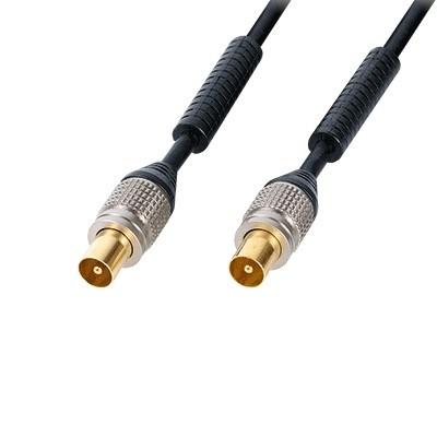 Удлинитель TV-антенны 2.0м, M-M Luxmann, ферр. фильтры <428-203-1> - фото 11040