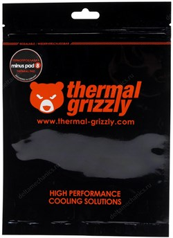 Термопрокладка Thermal Grizzly Minus Pad 8 30x30x1,0 мм TG-MP8-30-30-10-1R - фото 11229