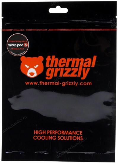 Термопрокладка Thermal Grizzly Minus Pad 8 30x30x2,0 мм TG-MP8-30-30-20-1R - фото 11231