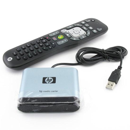 Пульт управления HP RC1804932/01B (589762-ZH1) для Media Center (MCE), +ресивер USB - фото 11301