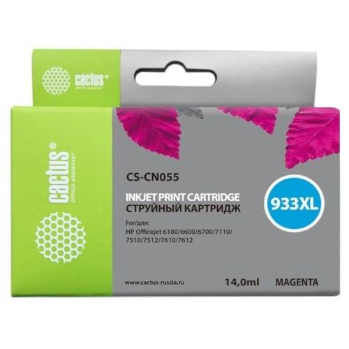 К-ж HP CN055AE (HP 933XL) Magenta (Officejet 6700/7100), Cactus - фото 11466