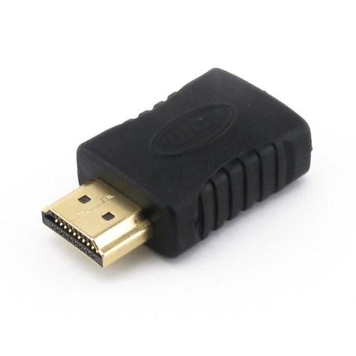 Переходник HDMI (19F) -> HDMI (19M) (180° прямой) - фото 11658
