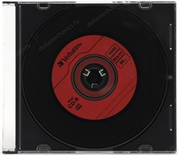 CD-R 700Mb 80min Verbatim 52x Music Vinyl, DL+, для аудио, slim - фото 11868