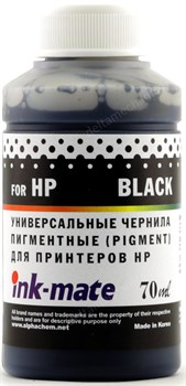 Чернила для HP 121/122/123/178/650/652/655/920 Black Pigment (70мл) Ink-Mate HIMB-UA - фото 11874