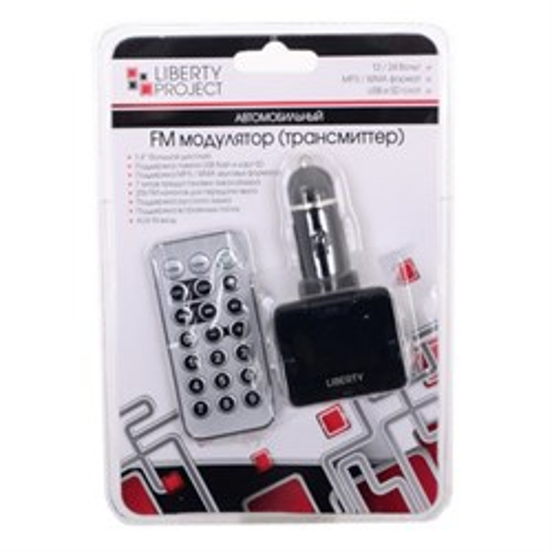 ФМ-передатчик LP T892-N (MP3 в прикуриватель а/м, SD, USB, AUX, ПДУ) - фото 11993