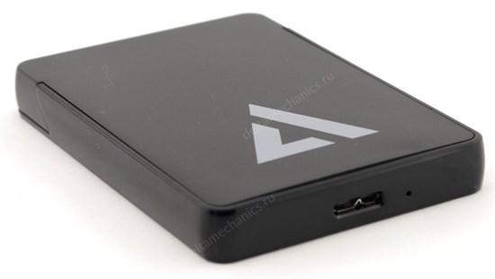 """Внешний корпус для 2.5"""" HDD/SSD SATA ACD-HDC2252U3 (JMS578, UASP, пластик, черный, безвинт.), USB 3.1 - фото 12095"""
