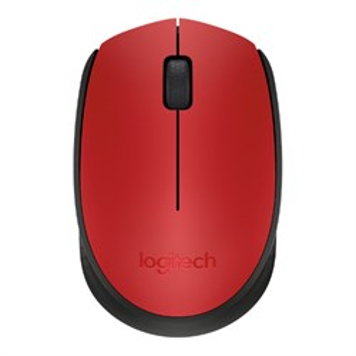Мышь беспров. Logitech M171 Red/black, mini, USB (910-004641) - фото 12386
