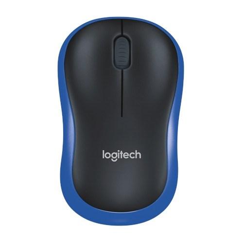 Мышь беспров. Logitech M185 Blue, USB (910-002239) - фото 12387
