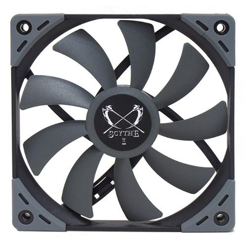Вентилятор Scythe Kaze Flex 120 Slim 120x120x17мм 1200rpm, 23.9dBa, 57.5m3/h, 0.9 mmH2O (KF1215FD12-P) - фото 12467