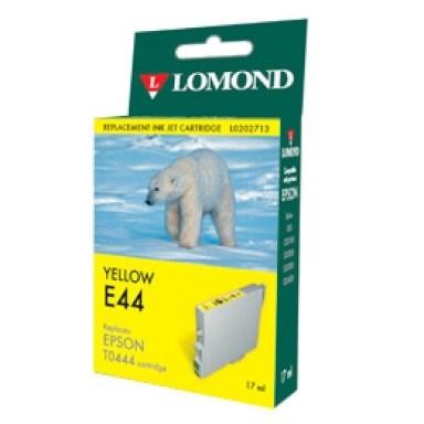 "К-ж Epson T0444Y Yellow для EPS ST C84/C86/CX6400/6600 ""Lomond"" (202712) - фото 12550"