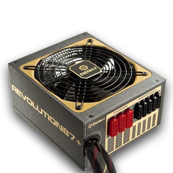 Блок питания ATX 1000W Enermax REVOLUTION87+ (ERV1000EWT-G) 80+ Gold, модульный - фото 13044