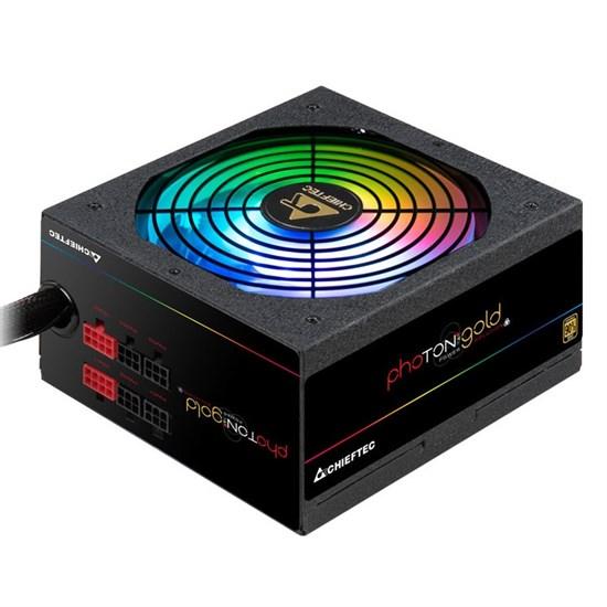 Блок питания ATX 650W Chieftec Photon Gold GDP-650C-RGB, 12V@53A, ActivePFC, ARGB 14cm, модульный, RTL - фото 13046