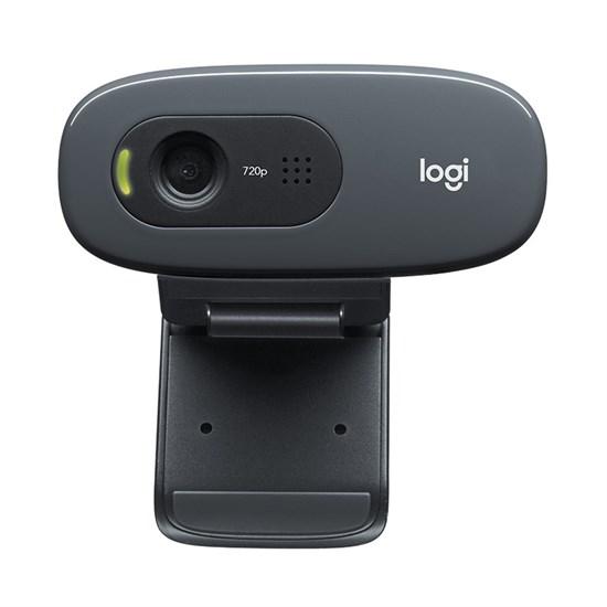 Logitech C270 HD Webcam (960-001063) - фото 13316