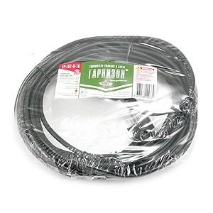 Сетевой удлинитель Гарнизон 1 евророзетка с заземлением, 10м. 3x1.5мм2, 16А - фото 13428