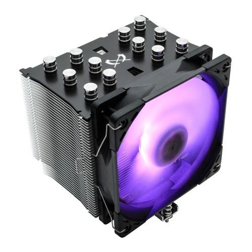 Кулер для S.2066/2011-v3/1366/115X/775/AMD Scythe Mugen 5 Black RGB (SCMG-5100BK) - фото 13601