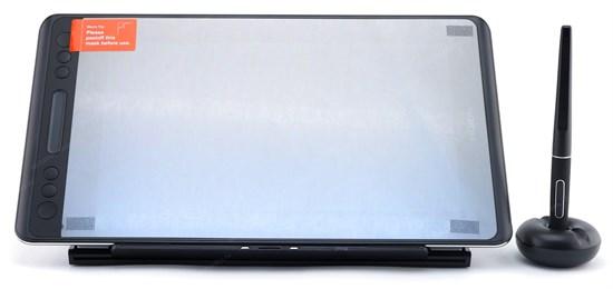 """Интерактивный дисплей HUION KAMVAS Pro 12 GT-116 (11.6"""", IPS 1920x1080, 120% sRGB, стекло, тачбар, 8192 ур., подставка, Win/MacOS) - фото 13716"""
