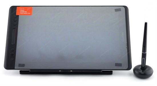 """Интерактивный дисплей HUION KAMVAS Pro 13 GT-133 (13"""", IPS 1920x1080, 120% sRGB, стекло, тачбар, 8192 ур., подставка, Win/MacOS) - фото 13721"""