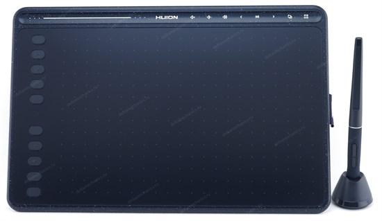 Графический планшет HUION HS611 синий (258x161 мм раб., 8192ур., 5080lpi, >233PPS, выс. чуств. 10мм, тачбар, Win/MacOS/Android) - фото 13792