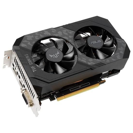 PCI-E x16 GeForce GTX 1650 ASUS TUF-GTX1650-O4GD6-P-GAMING 4GB DDR6 (RTL) - фото 13853