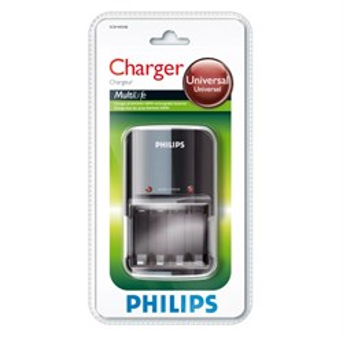 Зарядное устройство Philips Mini Multi Life SCB1405 для аккумуляторов (4x AA / AAA) - фото 14067