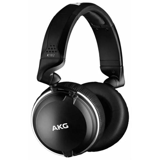 AKG K 182 (закрытые, складные, 10Гц-28кГц, 32Ом, 112дБ, 3.5+6.3мм, сьемный кабель 3м) - фото 14444
