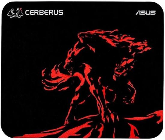 Коврик для мыши ASUS Cerberus Mat Mini красный (250 х 210 х 2 мм) - фото 15132