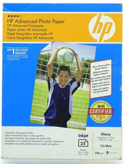 Бумага HP B6(13x18) Q8696A Premium Glossy (25 листов, 250г/м2) - фото 15191