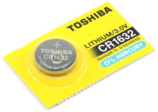 CR1632 Toshiba (Li, 3V) 1шт. - фото 15199