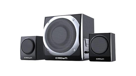 Crown CMS-353 черные (20W+2x10W, 40-20000 Гц, MP3-плеер(SD,USB), FM, ПДУ) - фото 5701