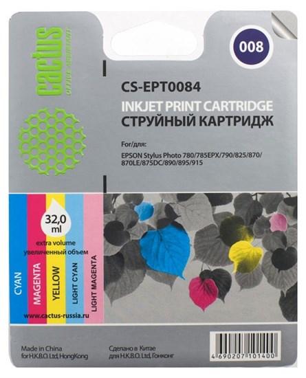 К-ж Epson T008401 Color (Stylus Photo 870) Cactus - фото 5748
